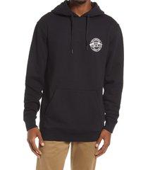 men's vans men's circle logo lock up hoodie, size xx-large - black
