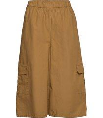 baliagz shorts ms20 wijde broek bruin gestuz