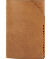 ezra arthur no. 2 leather card case in whiskey at nordstrom