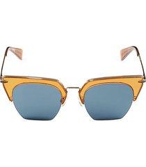 51mm clubmaster sunglasses