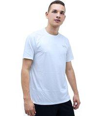 camiseta blanco under armour tech 2.0 ss printed