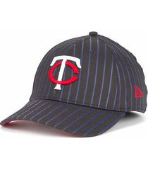 minnesota twins - new era 39/30 mlb frozen rope baseball cap/hat- size m/l