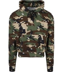 off-white camouflage hoodie