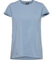 hmlisobella t-shirt s/s t-shirts & tops short-sleeved blå hummel