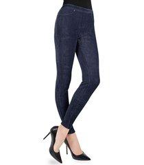 memoi women's wide wale corduroy leggings - grey - size m (8-10)/l (10-12)