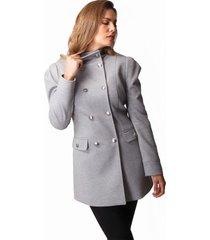 abrigo xuss ab-0003 gris