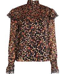 harper & yve blouse zwart x607