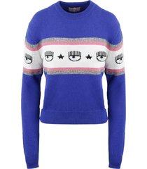 chiara ferragni maxilogo mania sweater
