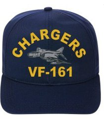 vf-161 chargers  f-4 phantom  direct embroidered cap    new