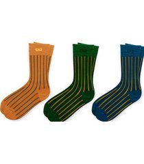 calcetin hombre tripack multicolor pair of thieves