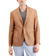 inc men's rocco slim-fit chambray blazer, created for macy's