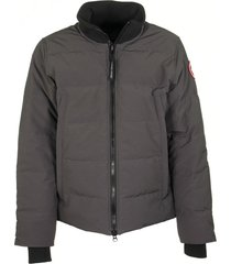canada goose woolford jacket graphite