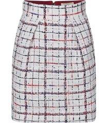 alexandre vauthier checked skirt