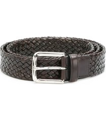 church's woven belt - brown
