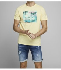 jack & jones men's graphic crew neck t-shirt
