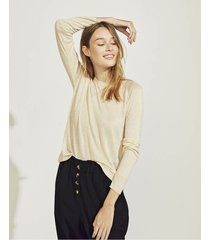 sweater beige portsaid light barbados