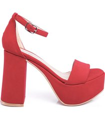 sandalia roja timothea 809701