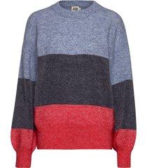 zina sweater gebreide trui multi/patroon twist & tango