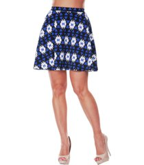 white mark women's triangles heidi skirt