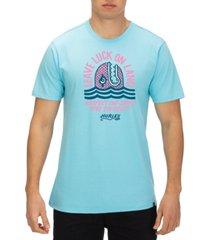 hurley men's respect the swell premium logo graphic t-shirt