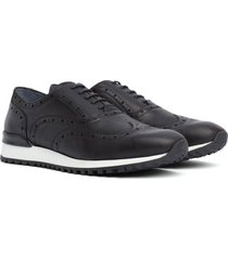zapatos lace up azul tommy hilfiger