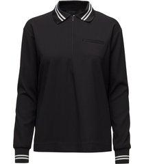 dawn polo shirt t-shirts & tops polos svart designers, remix