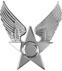 usaf air force honor guard hat emblem  enlisted   new   (made in usa)