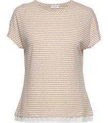 t-shirt short-sleeve t-shirts & tops short-sleeved beige gerry weber