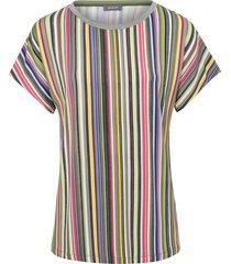 shirt met boothals en korte kimonomouwen van basler multicolour