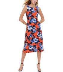 tommy hilfiger montauk floral-print dress
