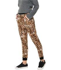 pantalón animal print al aniz jaguer