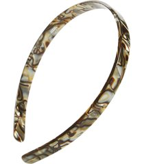 france luxe skinny headband, size one size - metallic
