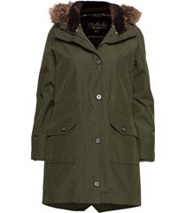 barbour tellin jacket parka rock jacka grön barbour