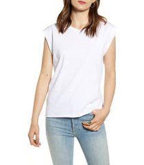 frank & eileen tee lab vintage muscle tee, size large in white at nordstrom