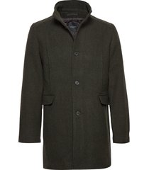 slhmosto wool coat b noos wollen jas lange jas groen selected homme