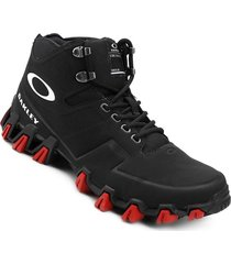 botas oakley turlock low jet black