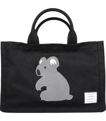thom browne square tote bag