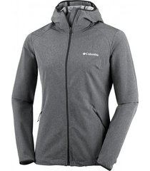 columbia jas women heather canyon softshell black