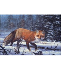 "r w hedge winter charm canvas art - 15.5"" x 21"""