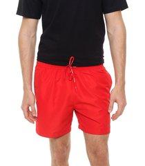 traje de baño rojo calvin klein medium drawstring