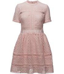 emily dress korte jurk roze by malina