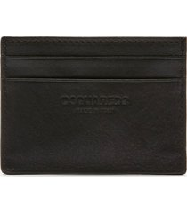 dsquared2 men's icon credit card holder - black