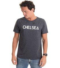 camiseta chelsea preta - kanui