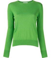 enföld silk blend sweatshirt - green