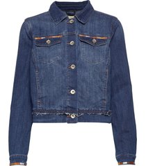 diwa denim jacket jeansjacka denimjacka blå cream