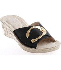 priceshoes sandalia confort dama 932a2892323negro