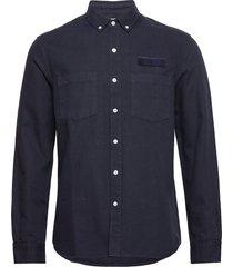 bear shirt överskjorta blå forét