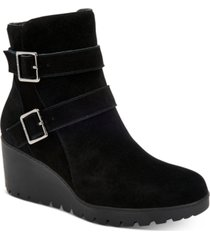 giani bernini sashaa memory-foam water-resistant booties, created for macy's women's shoes