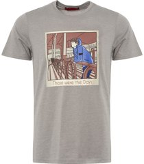 80's casuals grey 'those were the days' t-shirt 80s-twtd