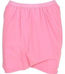 rick owens stretch mini skirt
